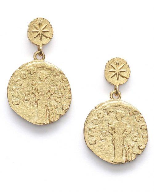Sister Coin Gold ørdobber fra Anni Lu.