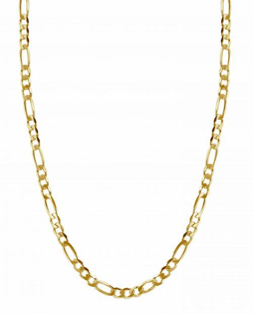 HASLA-Flat-Figaro-chain-Gold