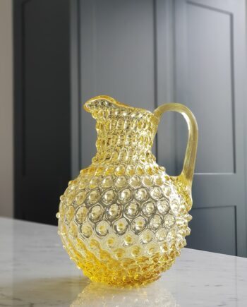 linne carafe yellow