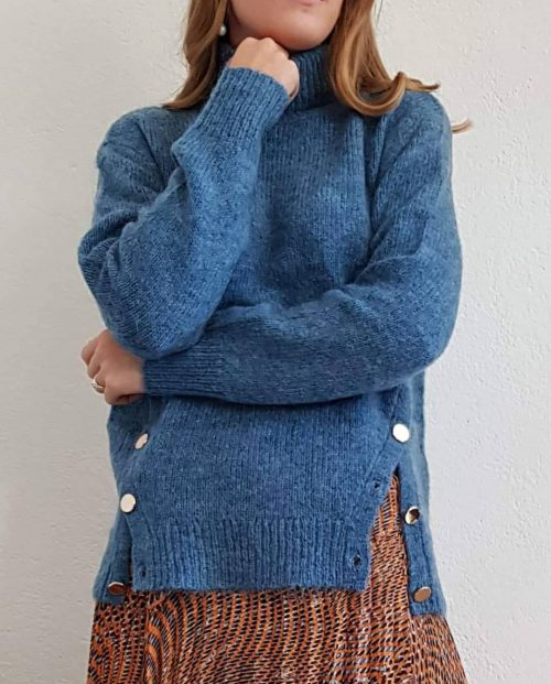 julie-fagerholt-heartmade-kirk-sweater-blå