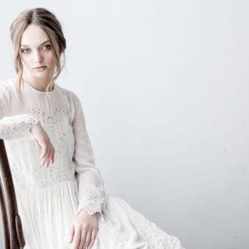Magali Pascal Harmony Maxi dress Dusty White