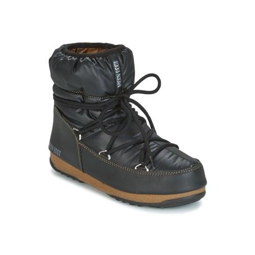 MOON BOOT W.E. LOW NYLON 123 2 1 Black-Bronze