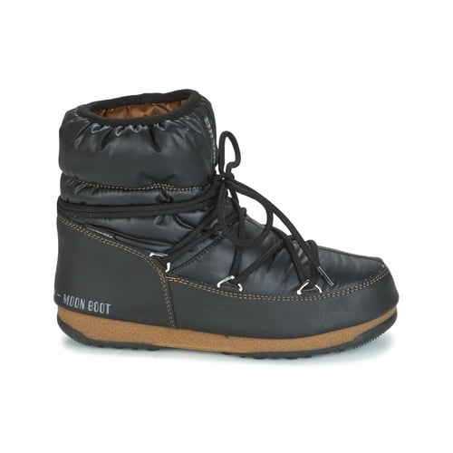 MOON BOOT W.E. LOW NYLON 123 2 1 Black-Bronze