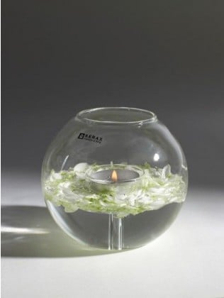 Serax Telysholder ball i glass