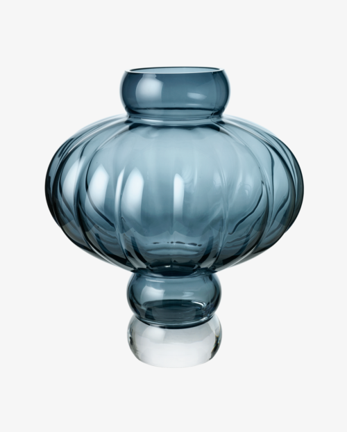 Louise Roe Balloon Vase 03 Blue