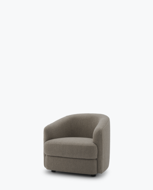 New Works Covent lounge chair dark Taupe