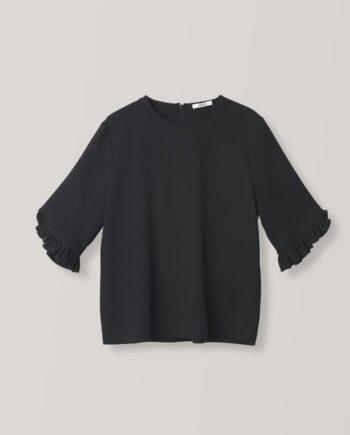 Ganni_clark_blouse_sort