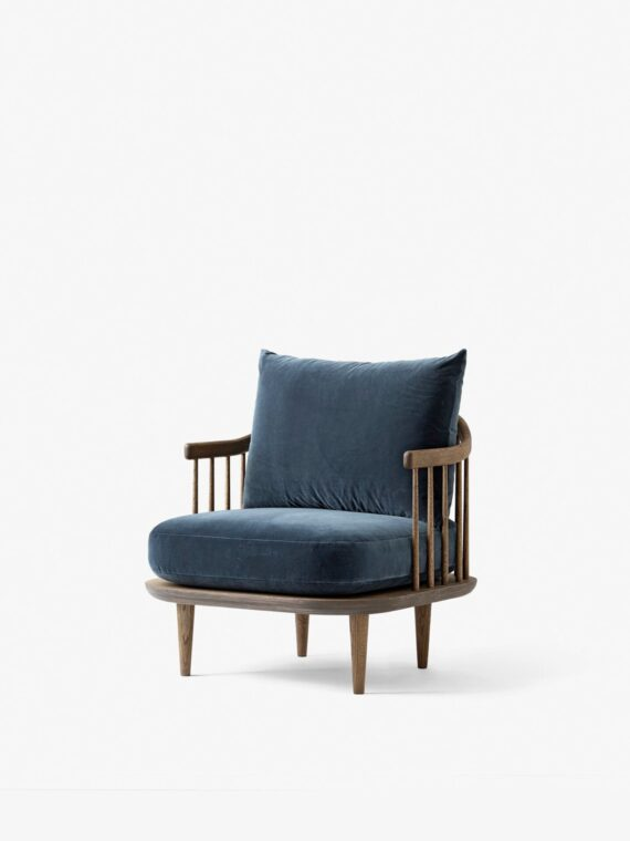 AND TRADITION FLY CHAIR SC10 / Smoked Oiled Oak w. Velvet 10 Twilight