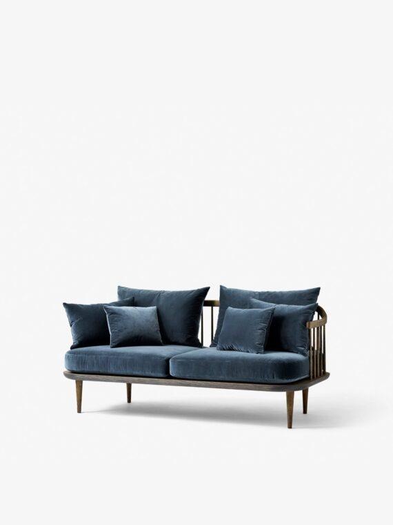&tradition SC2 FLY Sofa / Smoked Oiled Oak w. Velvet 10 Twilight