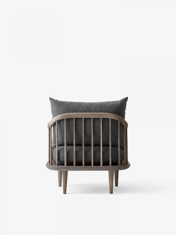 AND TRADITION FLY CHAIR SC10 / Smoked Oak / Hot Madison 093