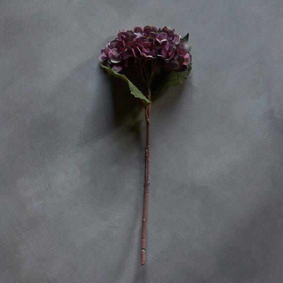 HORTENSIA DAMSON - Kunstig blomst