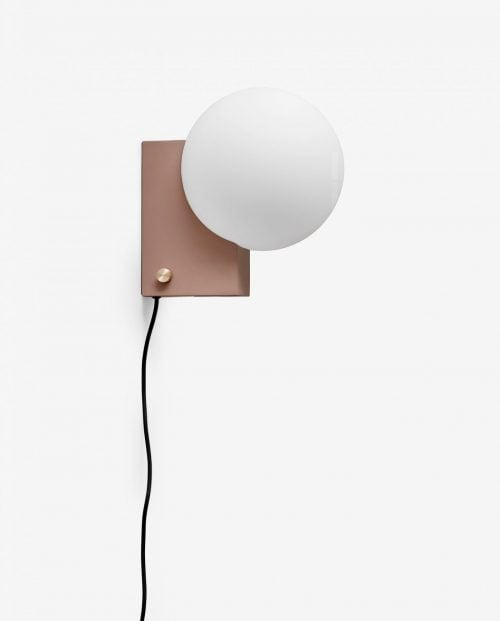 And tradition JOURNEY Bord og vegglampe SHY1 / Clay