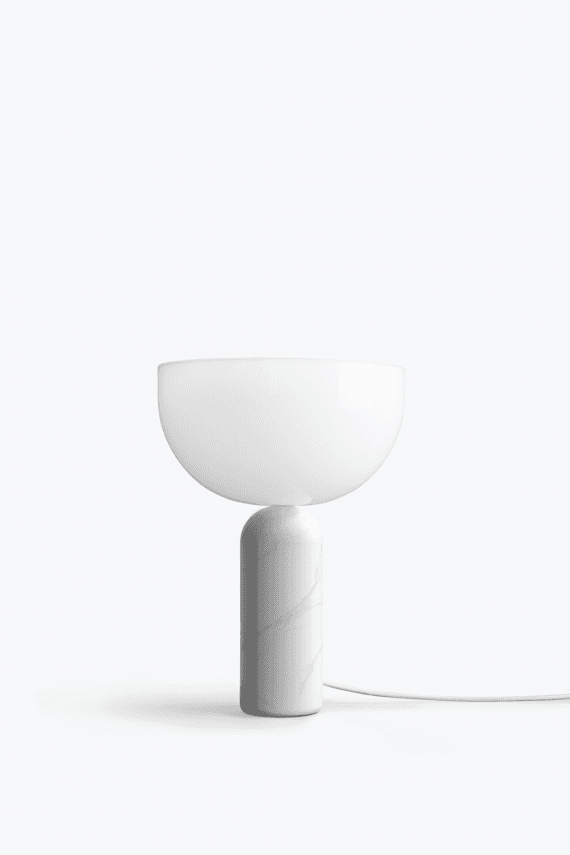 Kizu+Table+Lamp+White+Marble,+Small