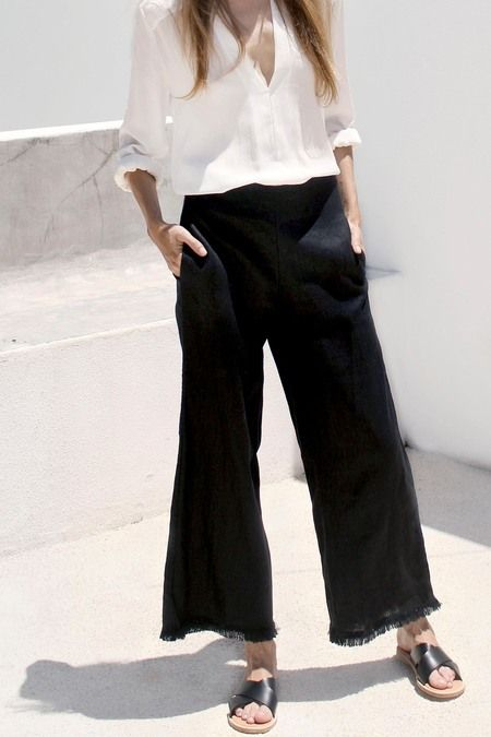 Magali Pascal Ibiza pants - Black