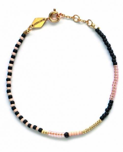 ANNI LU Armbånd - Mess bracelet - Onyx