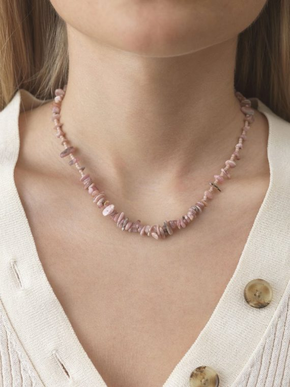 ANNI LU – Reef Necklace Seashell Pink