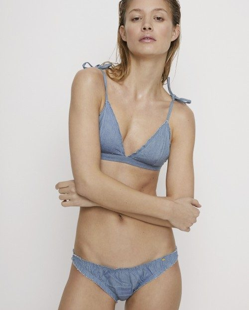 Love STORIES INTIMATES, Bikini topp Denim