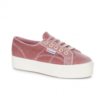 SUPERGA 2790 VELVETW PINK DUSTY ROSE