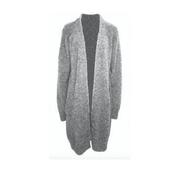 NEO NOIR GINA CARDIGAN LIGHT GREY