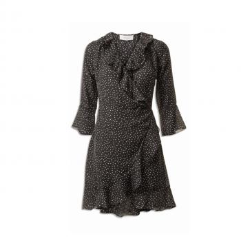 Neo Noir Fanny Dot dress