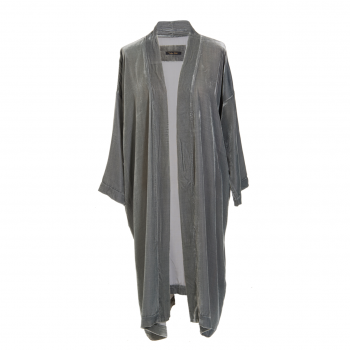 Vibeke Scott Kimono Jade Silk Velvet