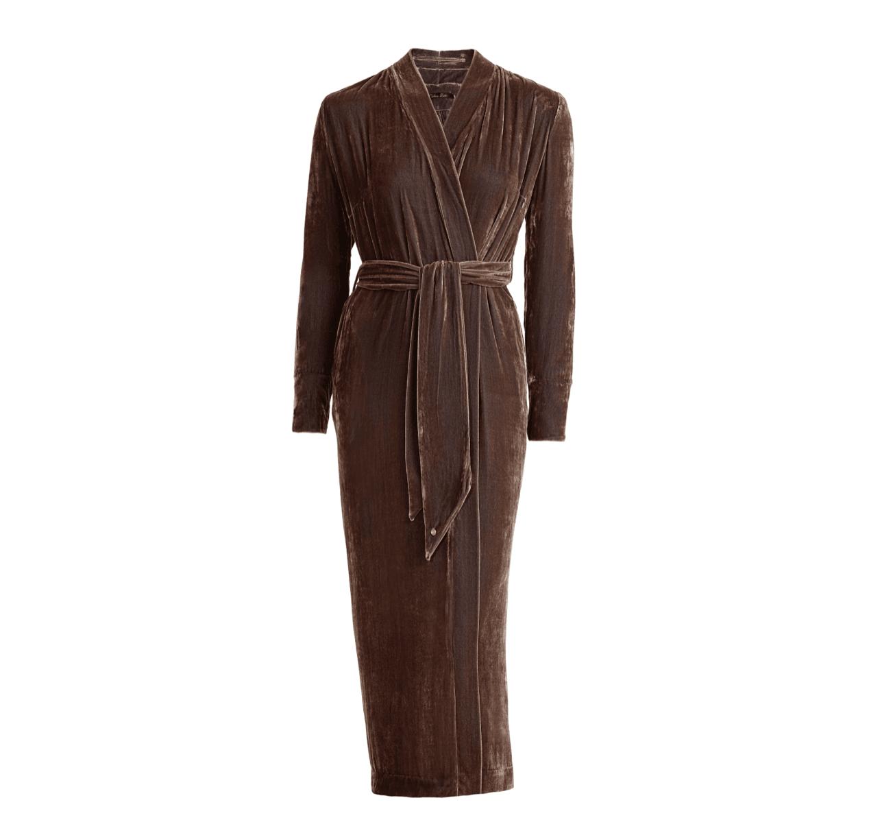Vibeke Scott Classic gown Nougat