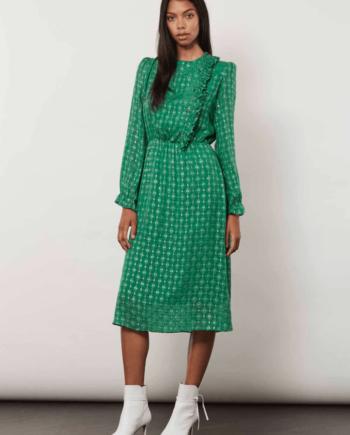 Julie Fagerholt HEARTMADE Havin kjole, Grønn