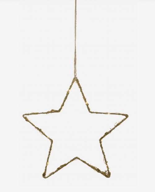 amy-stal-stjerne-dekket-av-mose-og-led-lys
