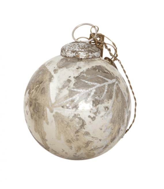 walther-co-julekule-sølv,-7-cm