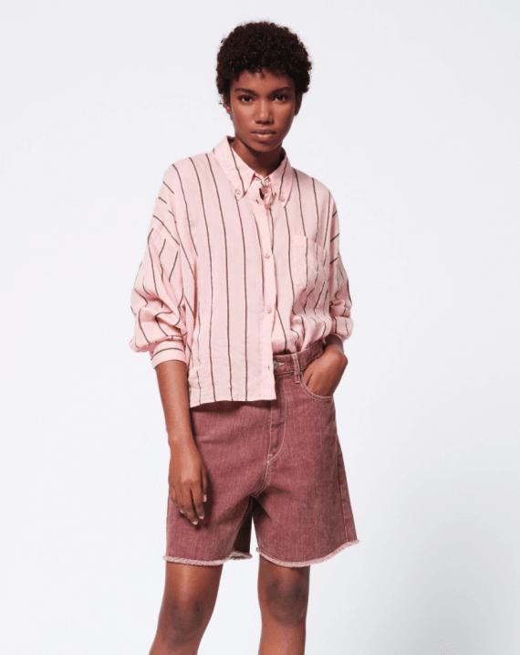 isabel-marant-etoile-ycao-skjorte-Light-Pink