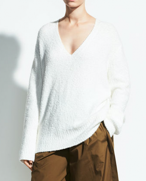 Vince Textured Cotton Tunic