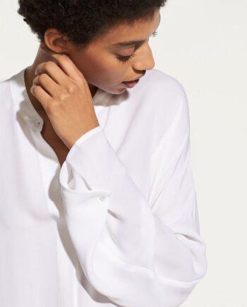 Vince Envelope sleeve popover - silke bluse