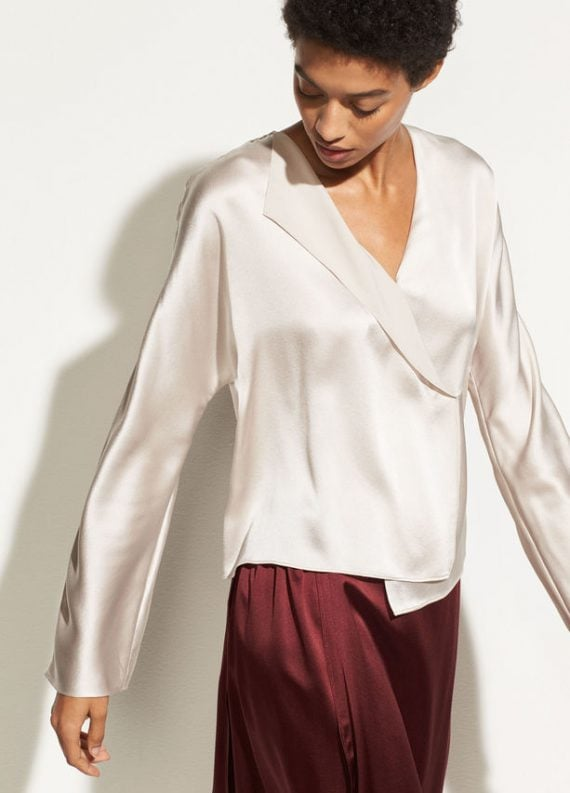 vince-drape-panel-silk-blouse