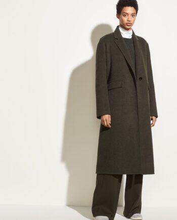 vince-long-coat-mørk-grønn