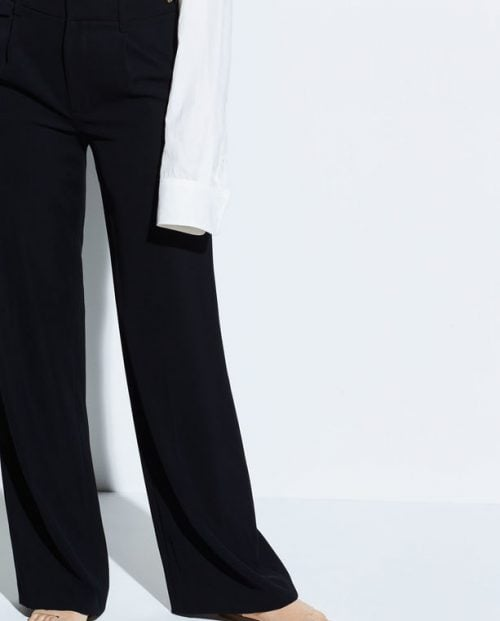 Vince Relaxed Trousers - Sort
