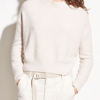 VINCE Wool boucle pullover