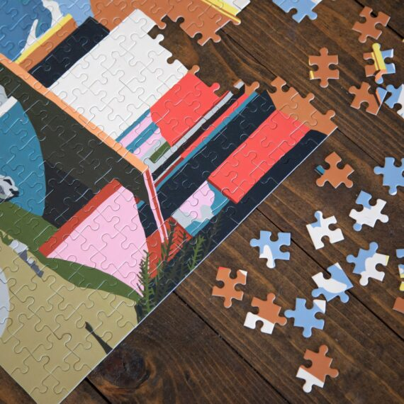 Slowdown Studio Yoro Park 285 Piece Puzzle