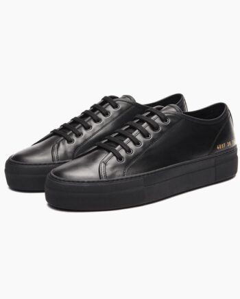 common-projects-Black-calf-leather-Tournament-low