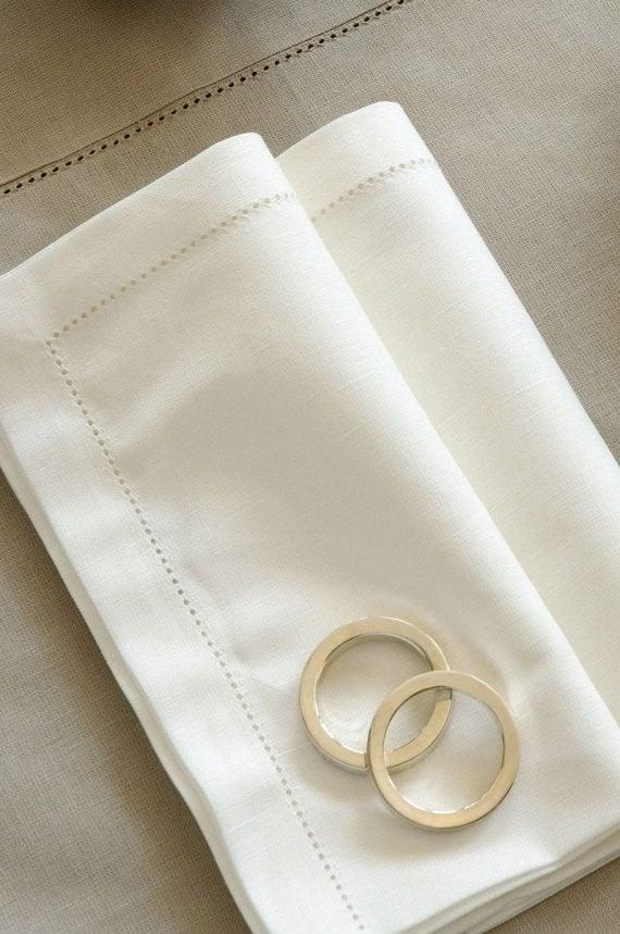 HIMLA VASA serviett ring, sølv