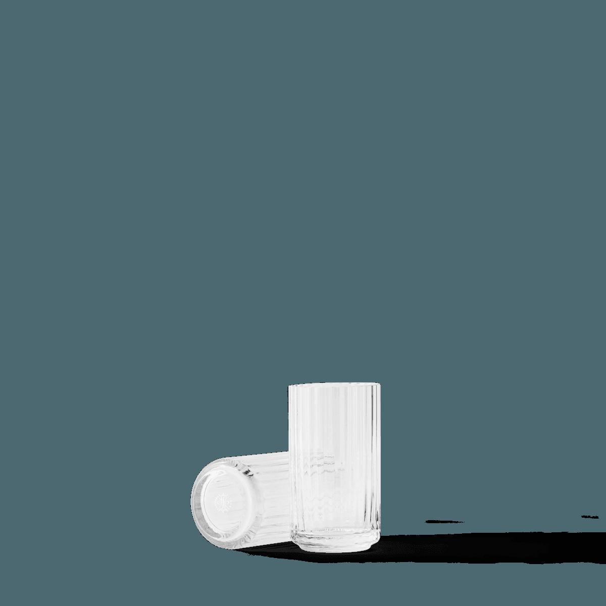 Lyngby Vase 12cm glass, Clear