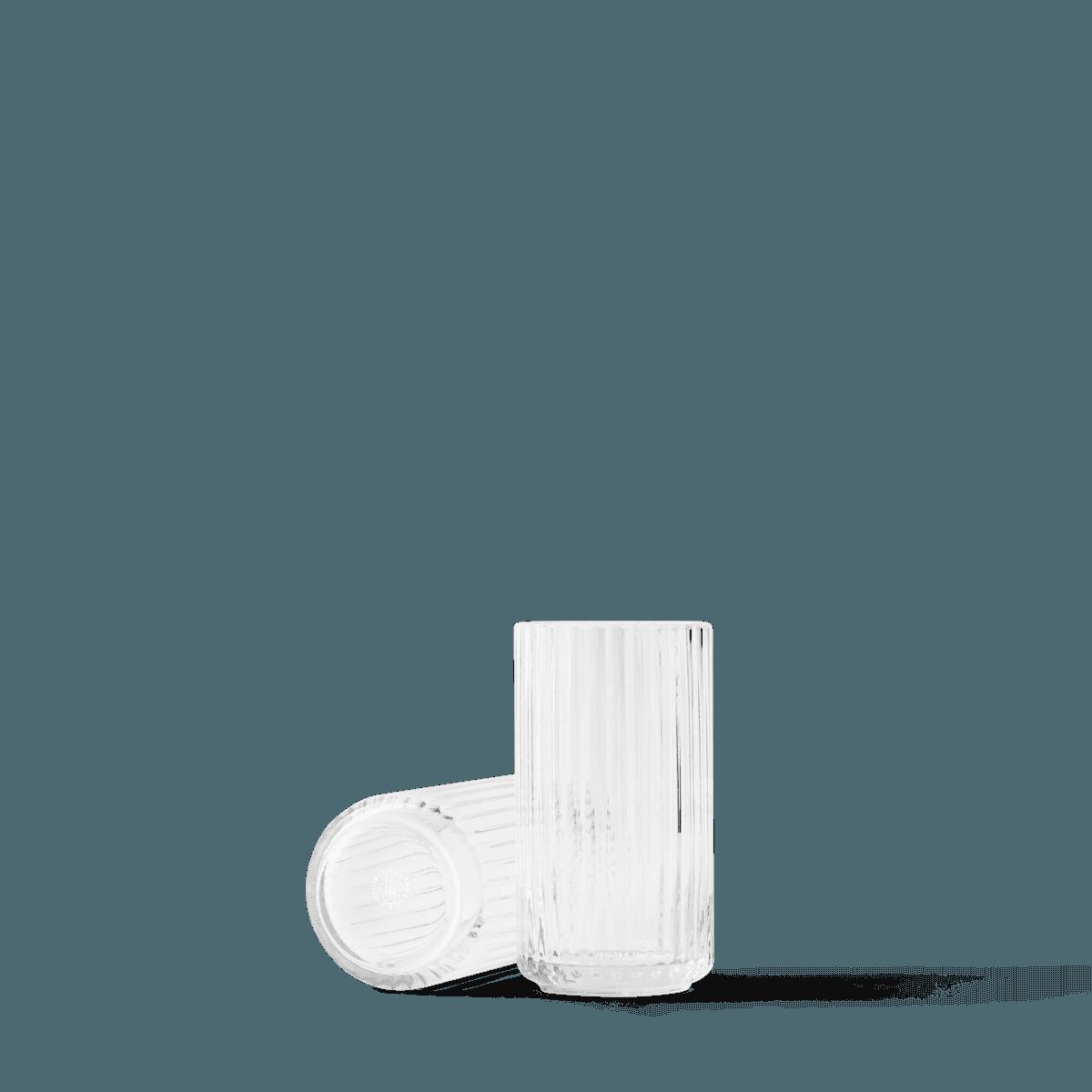 Lyngby Vase 15cm glass, Clear