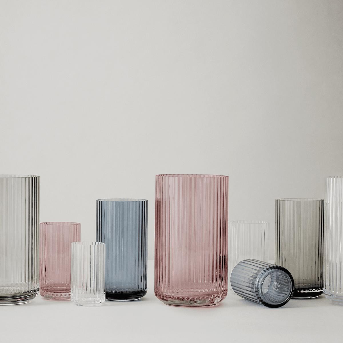 lyngby vase 12cm glass clear en ekte designklassiker. Black Bedroom Furniture Sets. Home Design Ideas