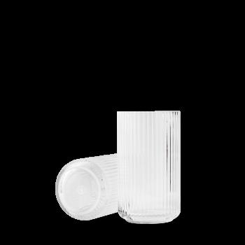 Lyngby Vase 20cm glass, Clear