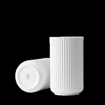 Lyngby Porcelæn VASE Hvid, 25 cm