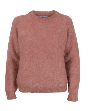 arnie-says-maddox-fluffy-genser-dusty-pink