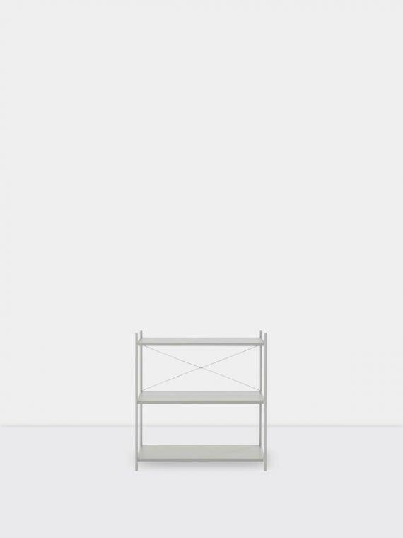 punctual grey 1×3
