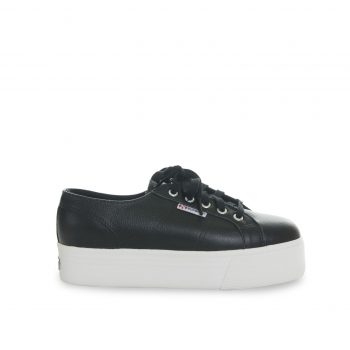 SUPERGA 2790 FGLU Leather Black