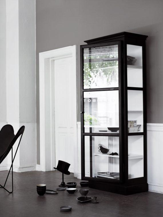 Lindebjerg Design Vitrineskap V1 70x210cm