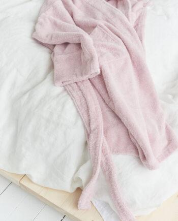 TEKLA Stella Pink Bathrobe